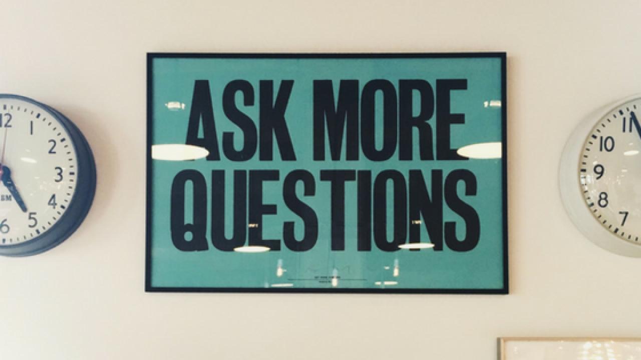 Fragen um sich selbst kennenzulernen