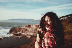 sich selbst lieben frau glücklich